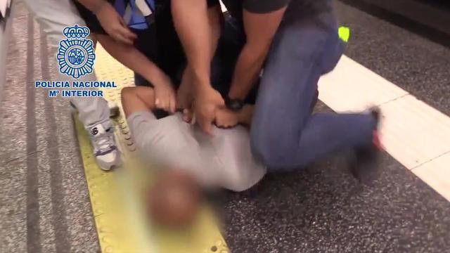 L'homme a été arrêté en flagrant délit dans le métro de Madrid, alors qu'il filmait une femme sous sa robe.