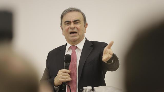 La justice libanaise interdit à Carlos Ghosn de quitter le territoire.