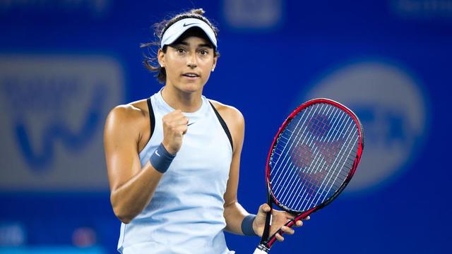 Caroline Garcia est la première française à se qualifier directement depuis Amélie Mauresmo en 2006.