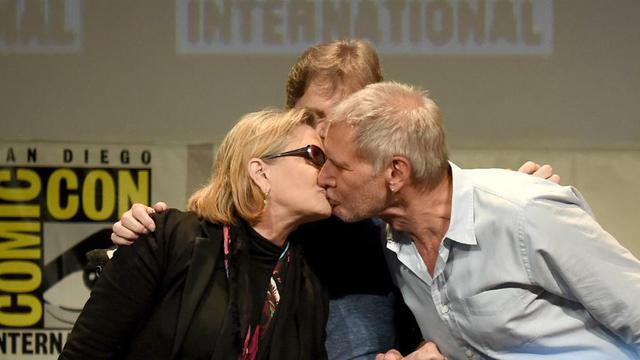 Carrie Fisher et Harrison Ford ont eu une liaison il y a quarante ans