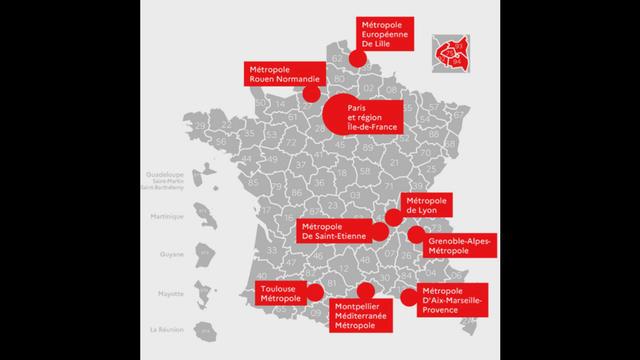 Carte Covid 19 Voici Les Villes Ou Le Couvre Feu Est Applique Cnews