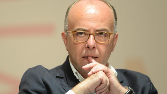 Le ministre de l'Intérieur, Bernard Cazeneuve.