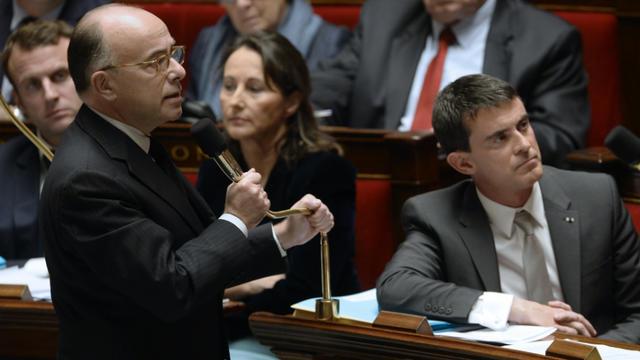 Bernard Cazeneuve, ici à l'Assemblée.