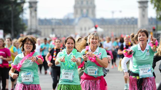 course a pied la parisienne