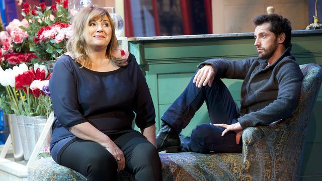 Michèle Bernier et Frédéric Diefenthal au théâtre Antoine