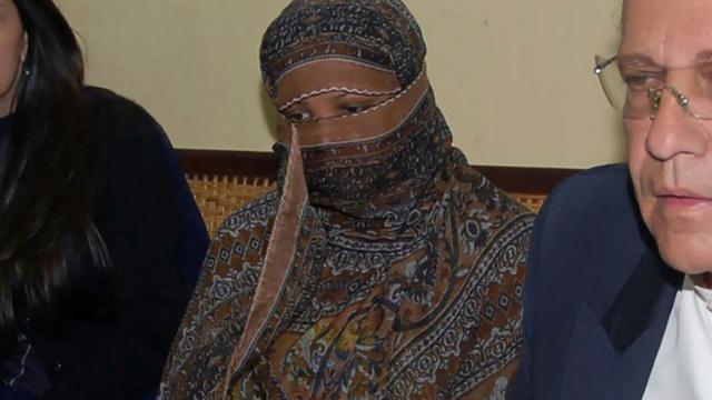 La Pakistanaise chrétienne Asia Bibi à la prison de Sheikhupura, le 20 novembre 2010 au Pakistan [Handout / DGPR Punjab/AFP/Archives]
