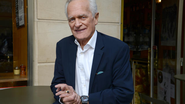 """Philippe Labro, auteur du roman """"Le flûtiste invisible"""""""