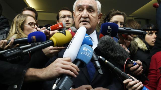 Jean-Pierre Raffarin le 7 décembre 2015 à Paris [DOMINIQUE FAGET / AFP/Archives]