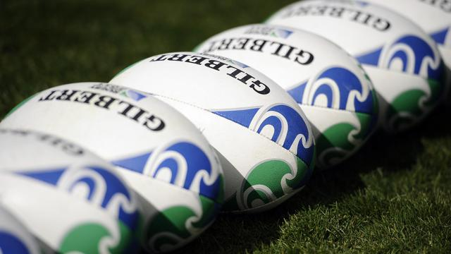 Des ballons de rugby [Stephane de Sakutin / AFP/Archives]