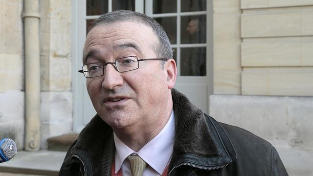 L'UMP Hervé Mariton le 31 janvier 2014 à Matignon, à Paris [Jacques Demarthon / AFP/Archives]