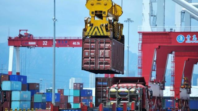 La Chine a commencé à imposer des droits de douane de rétorsion après le lancement par les Etats-Unis d'une guerre commerciale  [- / AFP]