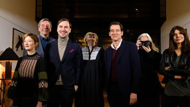 Les membres du jury de la Berlinale la veille de l'ouverture. (De gauche à droite) Alba Rohrwacher,Nick James, Lars Eidinger,Meryl Streep, présidente du jury,Clive Owen, Brigitte Lacombe et Małgorzata Szumowska à Berlin le 10 février 2016 [TOBIAS SCHWARZ                       / AFP]