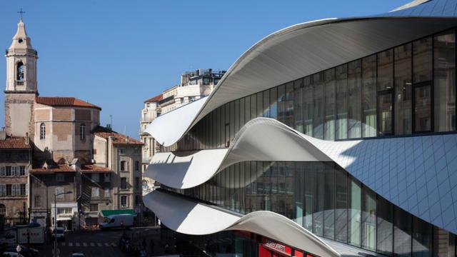 Le Centre Bourse de Marseille a été primé pour ses lignes extérieures novatrices.