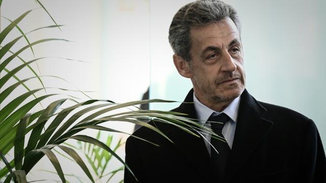 Nicolas Sarkozy à Paris, le 21 mars 2019 [Philippe LOPEZ / AFP/Archives]