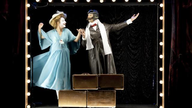 Semianyki express, un spectacle qui ne mène nulle part ailleurs que dans les rêves et fantasmes des comédiens