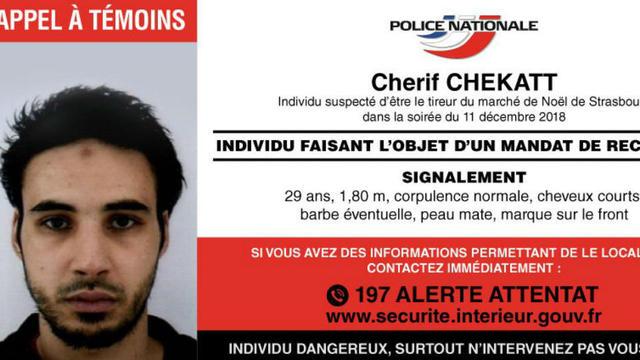 Cherif Chekatt avait prémédité son attaque du 11 décembre. L'auteur de l'attentat de Strasbourg avait tué cinq personnes sur le marché de Noël de la ville.