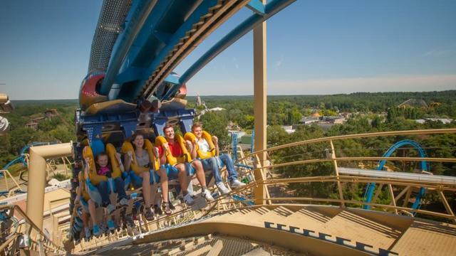 Le Parc Astérix attire près de 1,7 million de visiteurs chaque année.