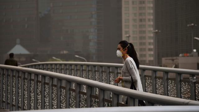 À Pékin, le taux de pollution est jusqu'à cinq fois supérieur aux recommandations de l'OMS.