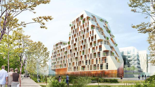 La rénovation du quartier des Batignolles devrait être achevée en 2017.