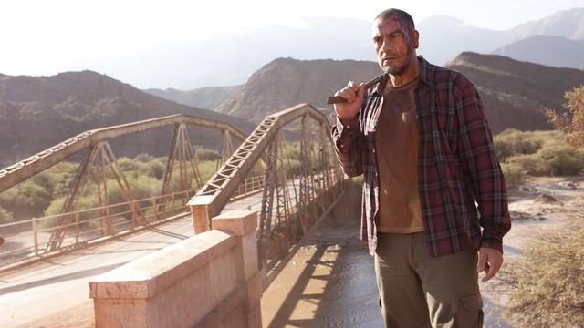 """Walter Donado dans le film de Damian Szifron """"Les nouveaux sauvages""""."""