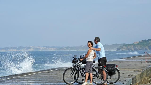 Le Pays Basque à vélo avec Le vélo Voyageur