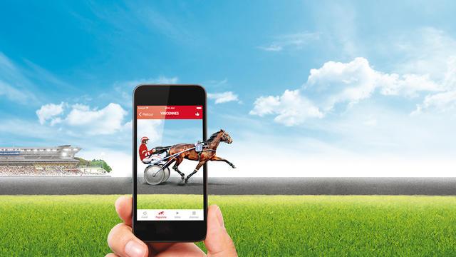 L'application Hippodrome Connecté est une première en France.