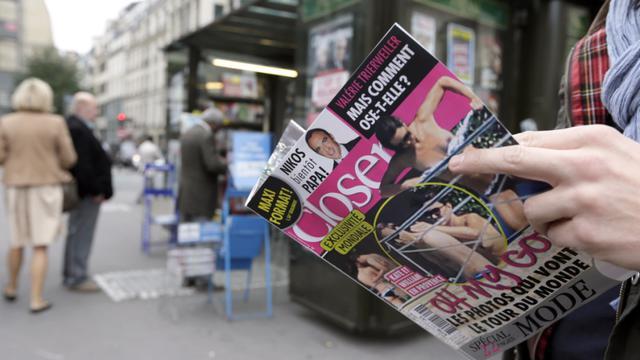 Un lecteur de Closer à Paris.