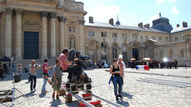 """Le film """"Colt 45"""" de Fabrice Du Welz, avec Gérard Lanvin et JoeyStarr, a en partie été tourné au Val-de-Grâce."""