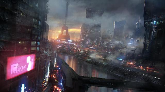 La ville de Néo-Paris en 2084