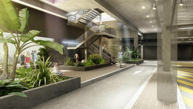 L'objectif est d'offrir une qualité de vie dans les souterrains équivalente à celle sur le parvis.