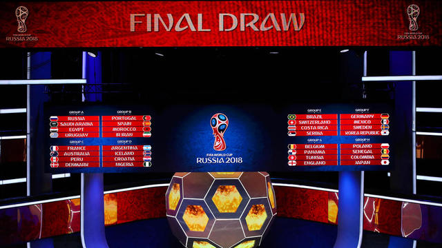 La phase de groupes de la Coupe du monde 2018 se tient du 14 au 28 juin.