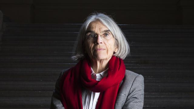 """Donna Leon, auteur de l'ouvrage """"L'inconnu du Grand Canal""""."""