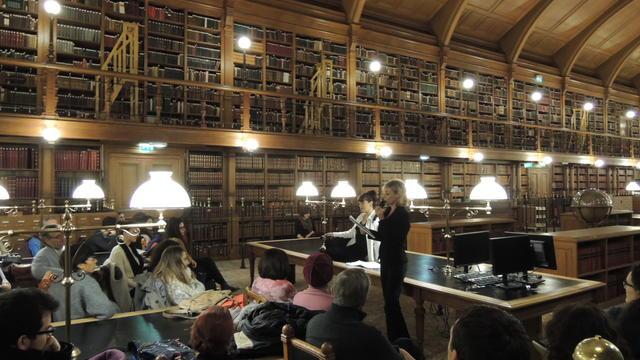 L'édition 2014 était passée par la bibliothèque de l'Hôtel de ville de Paris.