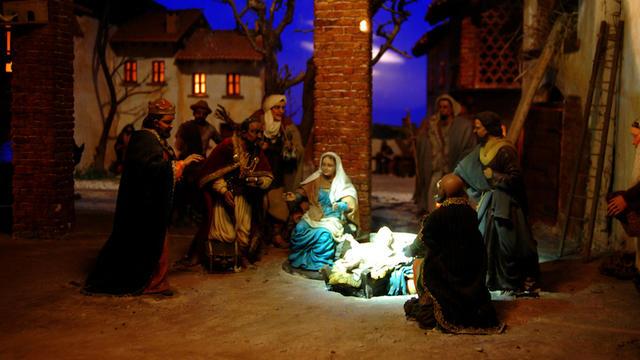 Une crèche de Noël (photo d'illustration).