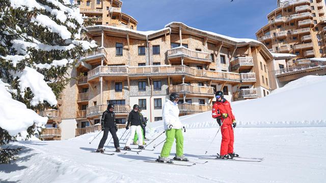 Avoriaz une station skis aux pieds qui innove
