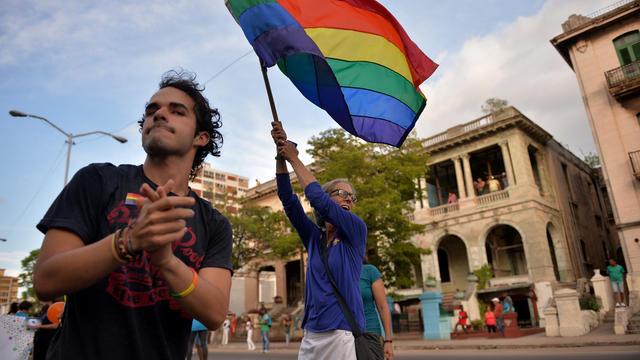 La Gay Pride à La Havane, le 12 mai 2018.