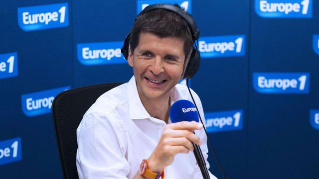 Thomas Sotto, en charge de la matinale d'Europe 1.