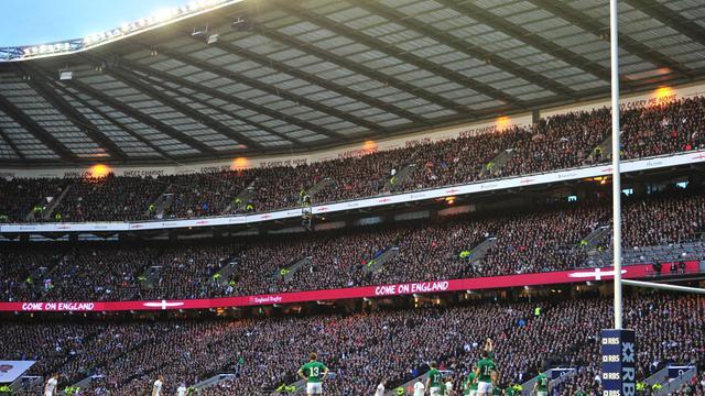 Vue générale du stade de Twickenham pendant le match Angleterre-Irlande, lors du Tournoi des Six nations, le 22 février 2014 [Glyn Kirk / AFP/Archives]