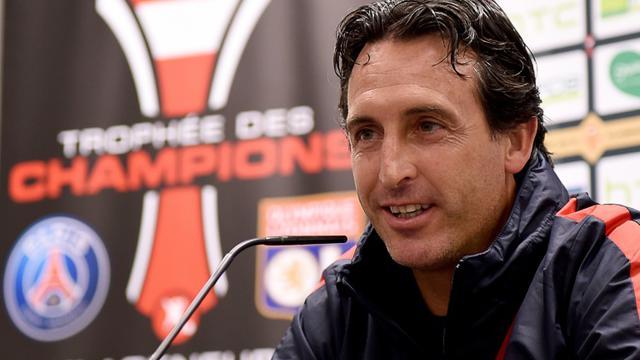 L'entraîneur du PSG Unai Emery, en conférence de presse le 5 août 2016 à Klagenfurt [BORIS HORVAT / AFP]