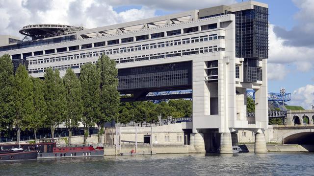 Une vue du ministère du Budget et des Finances [Bertrand Guay / AFP/Archives]