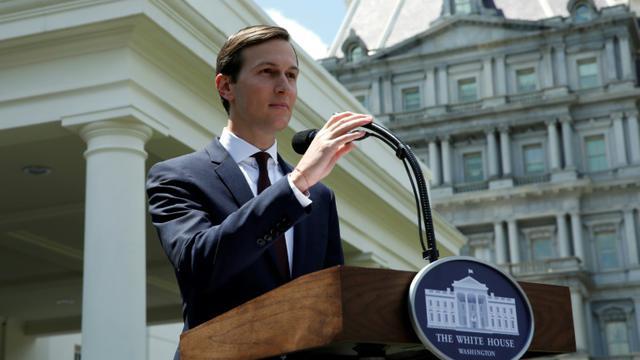 Le Haut conseiller du président des Etats-Unis, Jared Kushner à la Maison Blanche le 24 juillet 2017 [YURI GRIPAS / AFP]