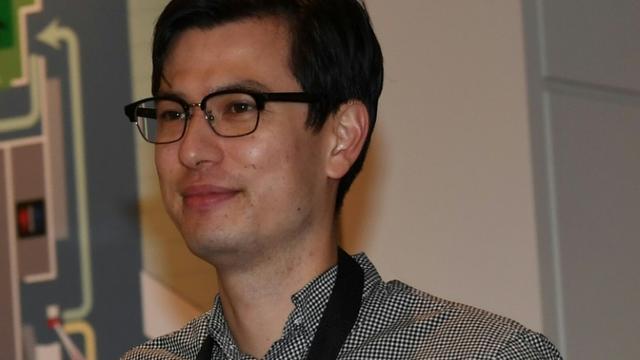 L'étudiant australien Alex Sigley, libéré après avoir été détenu en Corée du Nord, à son arrivée à l'aéroport de Tokyo, le 4 juillet 2019  [Toshifumi KITAMURA / AFP]