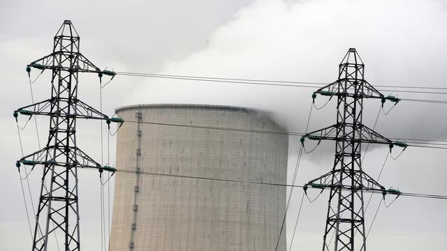 Des pylones électriques près de la centrale nucléaire de Golfech, dans le  Tarn-et-Garonne, le 21 novembre 2009 [Jean-Pierre Muller / AFP/Archives]