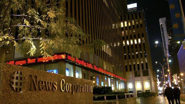 Le logo de News Corp [Mandel Ngan / AFP/Archives]