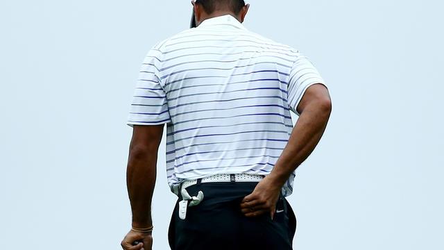 L'Américain Tiger Woods lors du tournoi PGA de Louisvillle le 8 août 2014 [Andy Lyons / Getty/AFP/Archives]