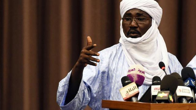 Le vice-président de la rébellion touareg Mouvement national de libération de l'Azawad (MNLA) Mahamadou Djeri Maïga le 16 juillet 2013 à Alger [Farouk Batiche / AFP/Archives]