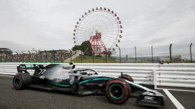 Le pilote finlandais Valtteri Bottas (Mercedes) au Grand Prix du Japon, le 11 octobre 2019 à Suzuka [Behrouz MEHRI / AFP]