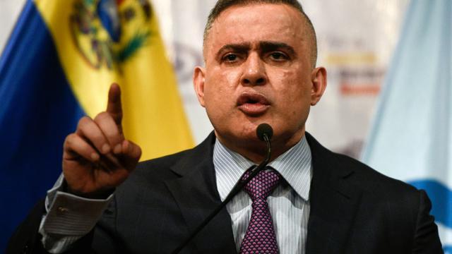 Le procureur général du Venezuela Tarek William Saab, à Caracas le 14 août 2018 [Federico PARRA / AFP]