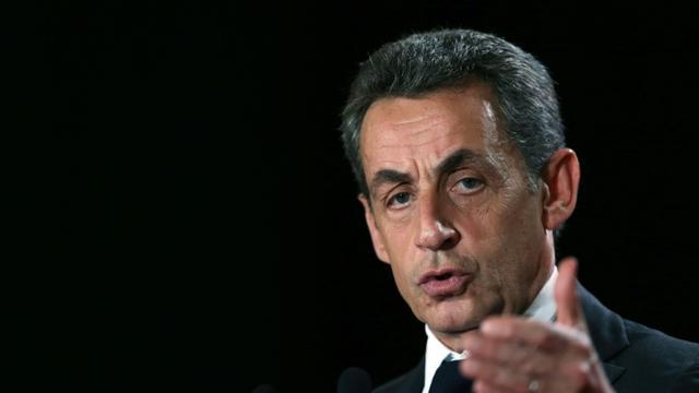 Nicolas Sarkozy, le 30 novembre 2015, à Rouen [CHARLY TRIBALLEAU / AFP]