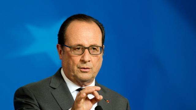 Le président François Hollande, le 15 octobre 2015 à Bruxelles [Alain Jocard / AFP/Archives]